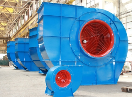 The biggest industrial fan, produced in Bulgaria from SPARTAK JSC, is desired by Russians